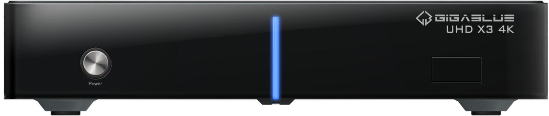 Image of GigaBlue UHD X3 4K Twin FBC-DVB-S2x