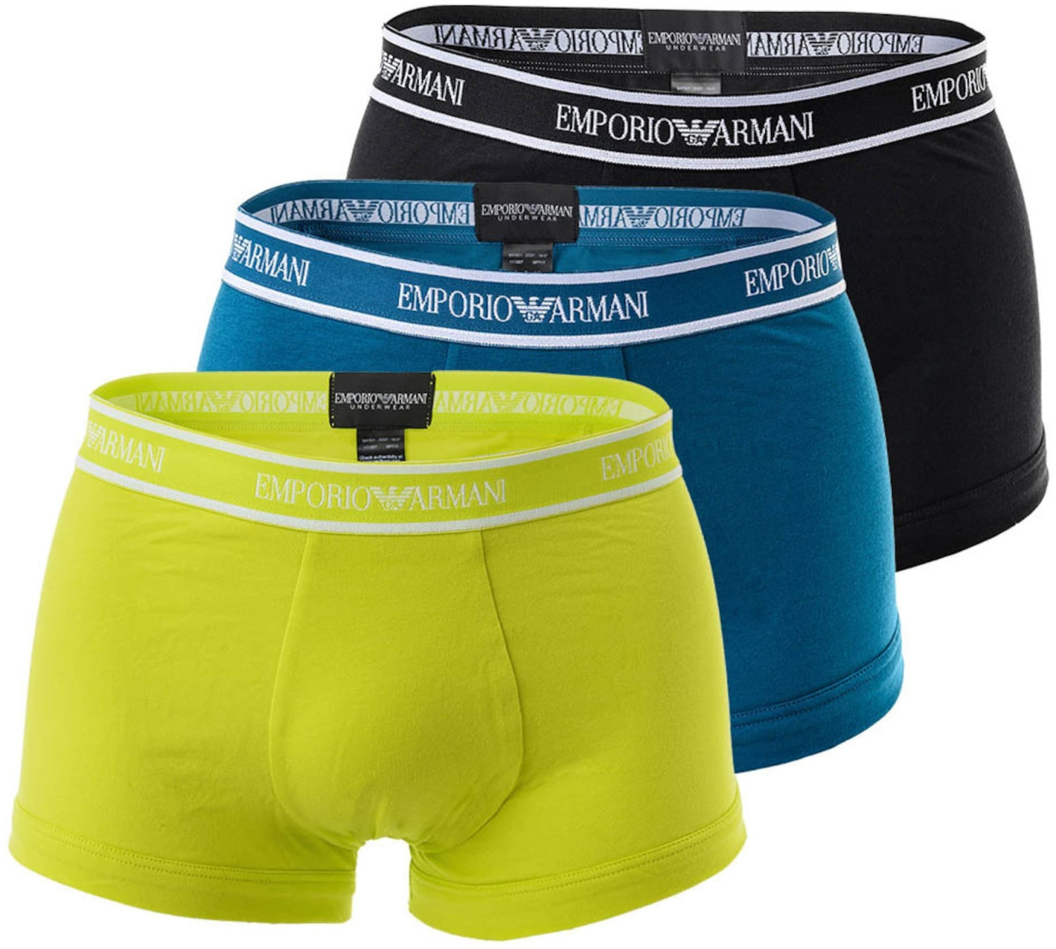 Image of Emporio Armani 3-Pack Trunks (111357-0P717-08960)