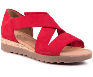 Gabor Ladies Sandals (42.744) rubin red ab 58,62