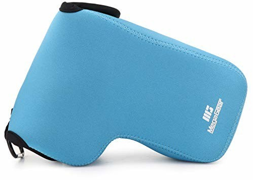 Image of MegaGear Camera Bag Neoprene Nikon Coolpix P1000 blue