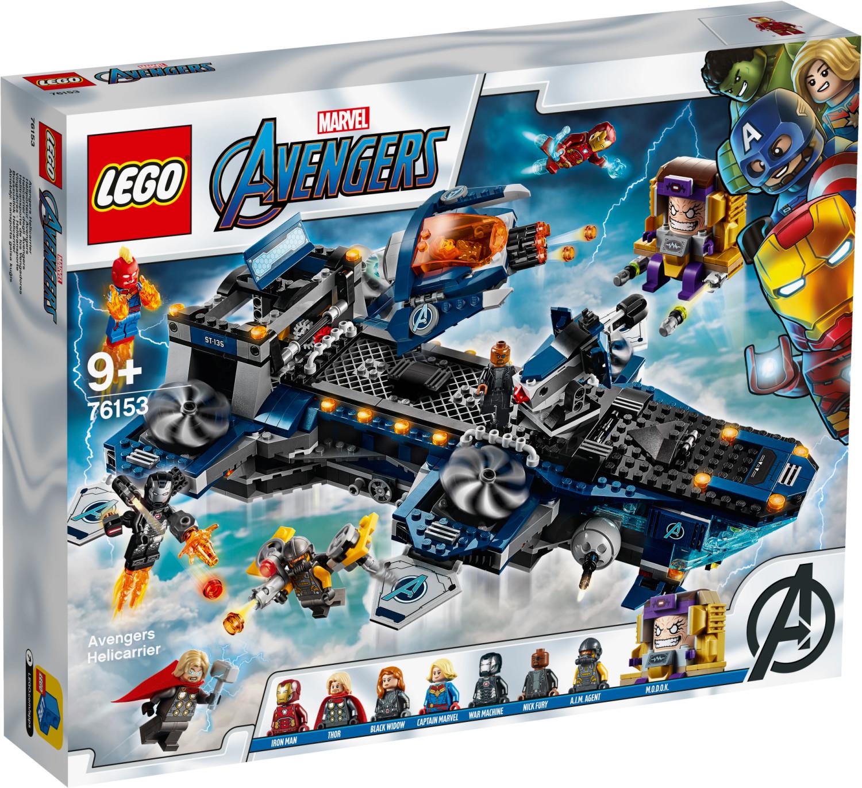 LEGO Marvel Avengers - L'héliporteur des Avengers (76153)