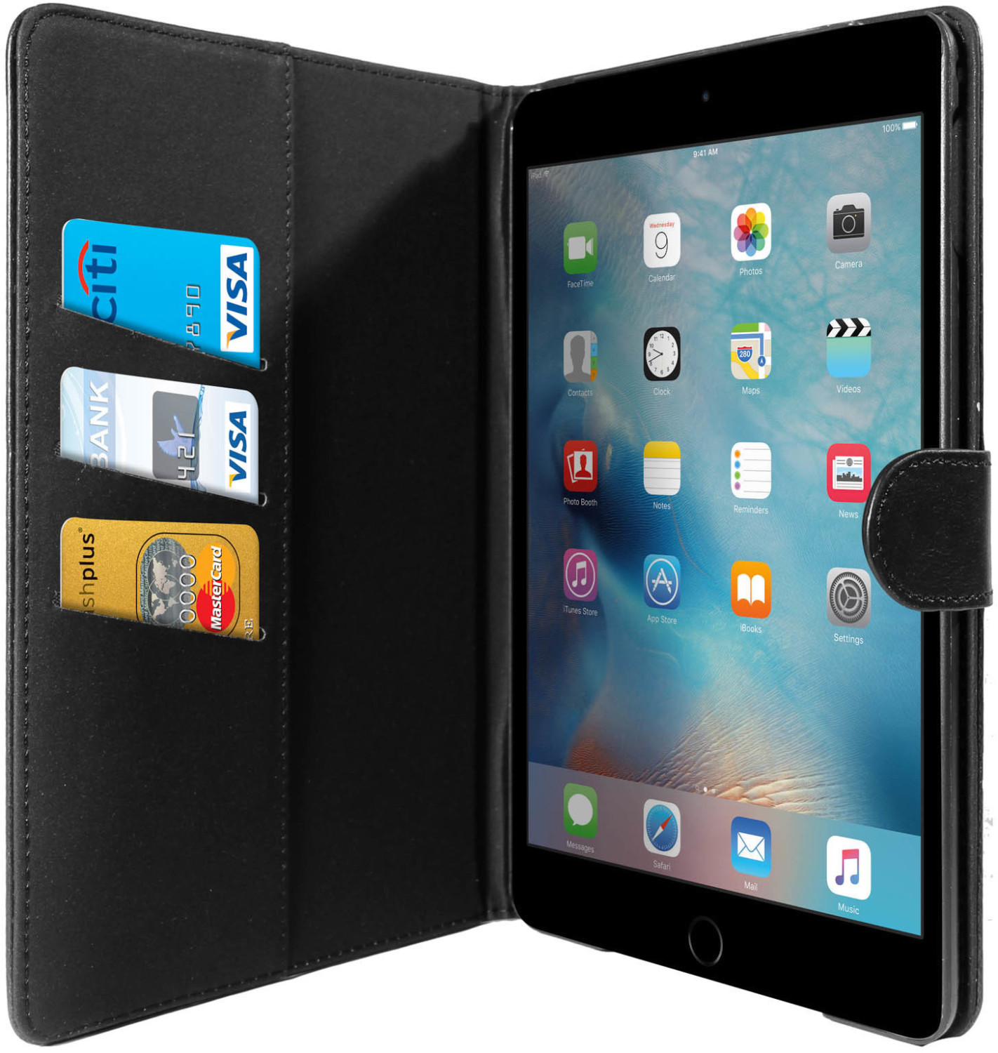 Image of Avizar Case Retrò Apple iPad Mini 4 Black