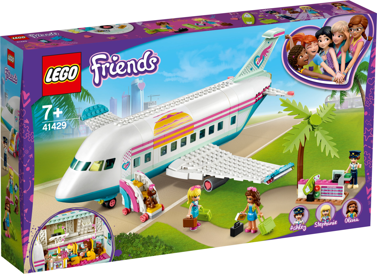LEGO Friends - L'avion de Heartlake City (41429)