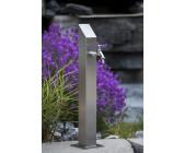 Wasserzapfstelle Edelstahl Wasserzapfsäule Wassersäule Eckig 80mm