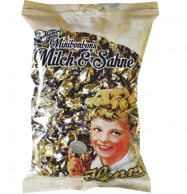 Henri Minibonbons Milch & Sahne (250g)