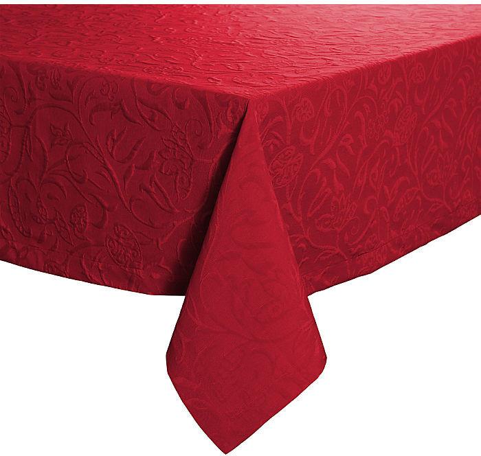 Pichler Textil Cordoba Tischdecke 130 x 170 cm burgund