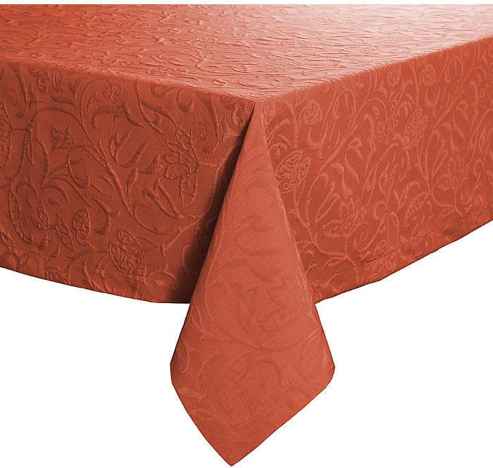 Pichler Textil Cordoba Tischdecke 130 x 170 cm terracotta