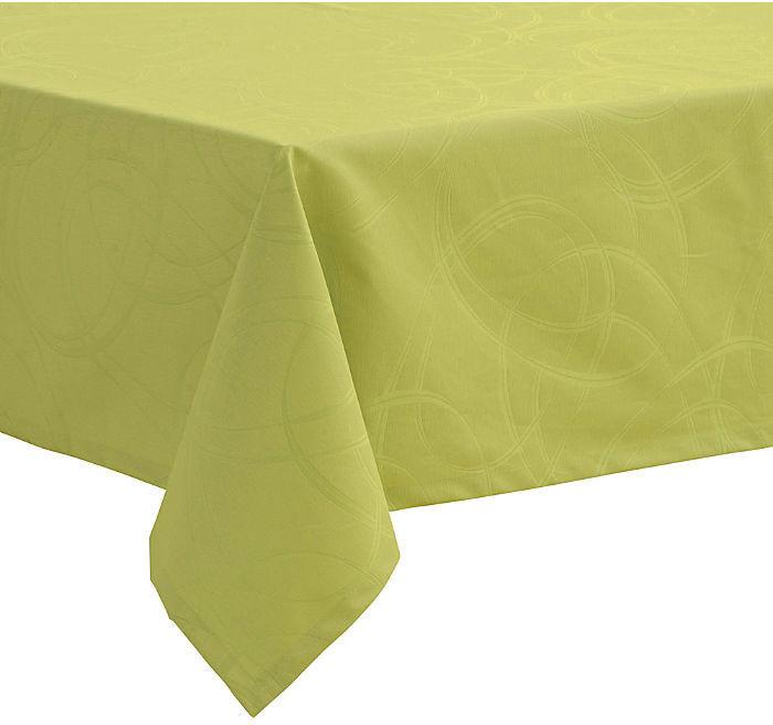 Pichler Textil Loop Tischdecke 130 x 220 cm limone