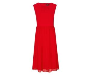 Comma Plissee-Kleid (8T.004.82.5390.3132) rot