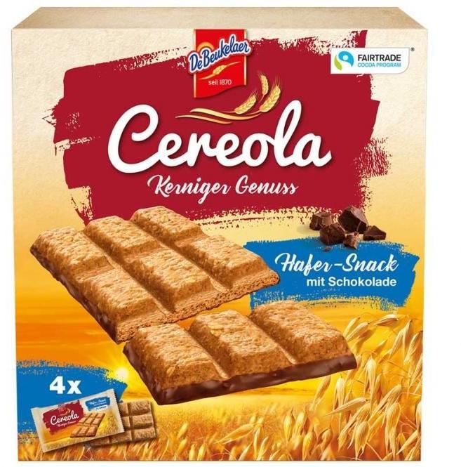 De Beukelaer Cereola Kerniger Genuss Hafer-Snack 4er (136g)