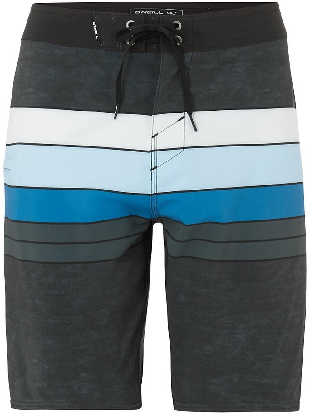 O'Neill Hyperfreak Heist Line Boardshorts black aop