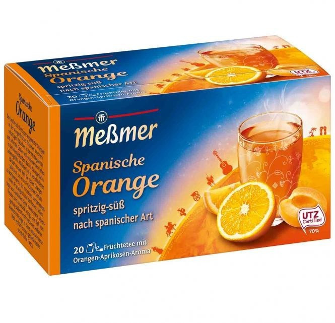 Meßmer Spanische Orange Tee (20 Stk.)