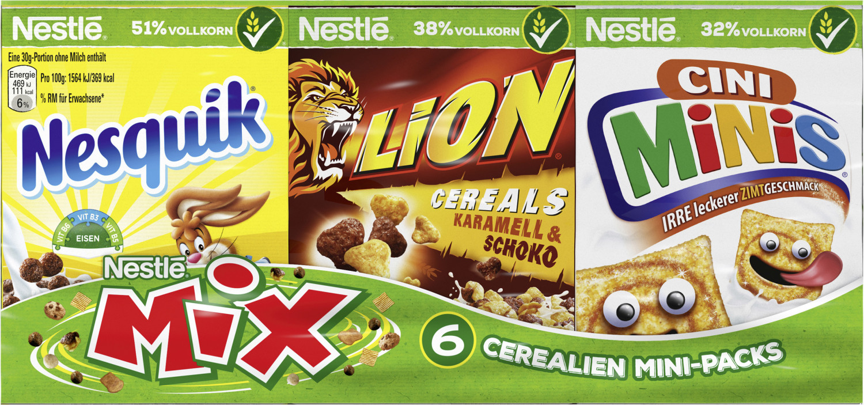 Nestlé Mix Cerealien Mini-Packs 6er (190g)