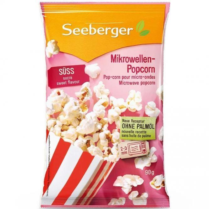Seeberger Mikrowellen-Popcorn süß (90g)