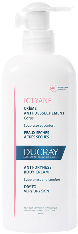 Ducray Ictyane hydratisierende Körpercreme (400ml)