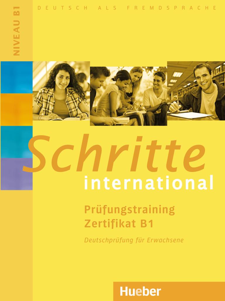 Image of Schritte international. Prüfungstraining Zertifikat B1 (ISBN: 9783195918565)