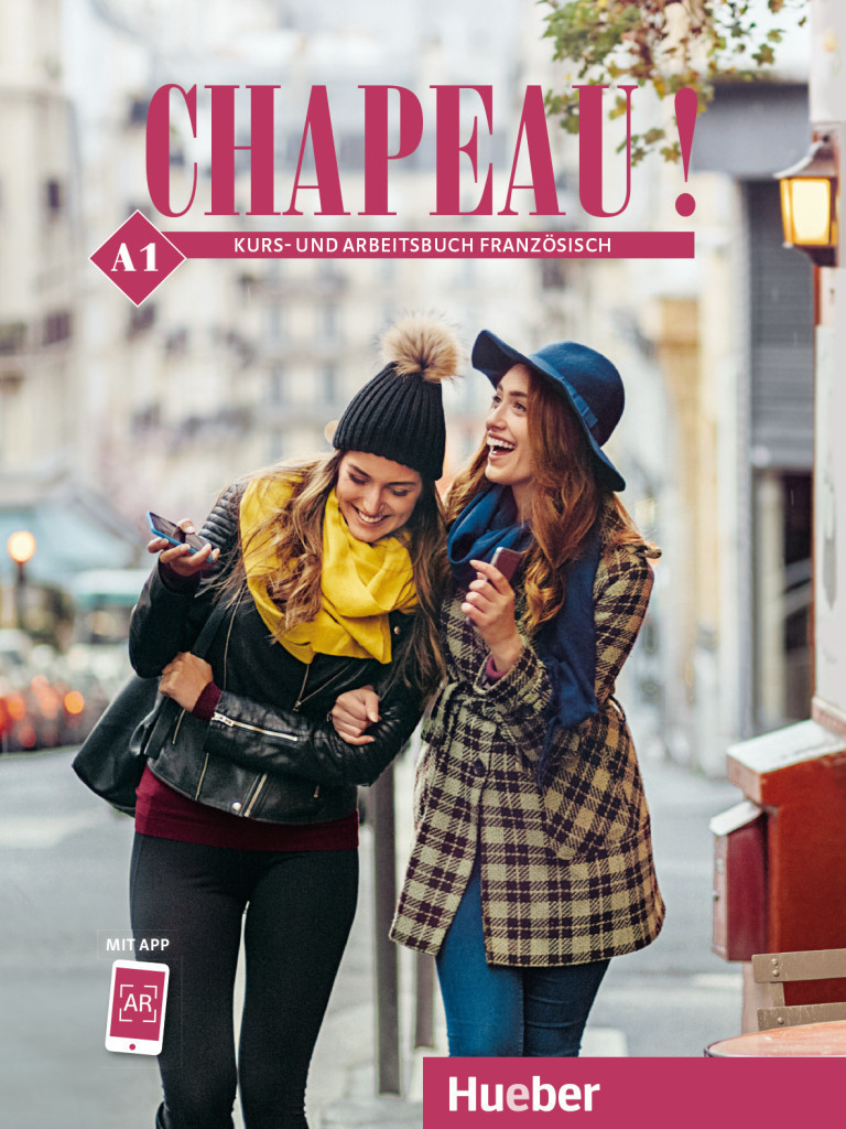 Image of Chapeau ! A1. Kursbuch + Arbeitsbuch (ISBN: 9783190034345)
