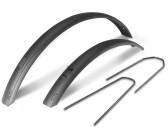 Hebie Rainline Schutzblech Set 28 41mm Streben black glossy