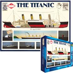 Eurographics Puzzles Titanic: Schiffsaufbau (1....