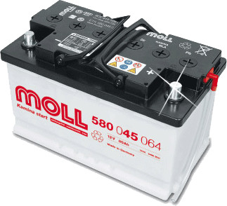 MOLL Kamina Start 12V 100Ah (600 038 085)
