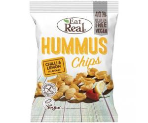Eat Real Hummus Chips Chili & Zitrone (135g)