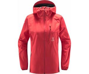 Haglöfs L.I.M Jacket Women Damenjacke GORE TEX® stone grey