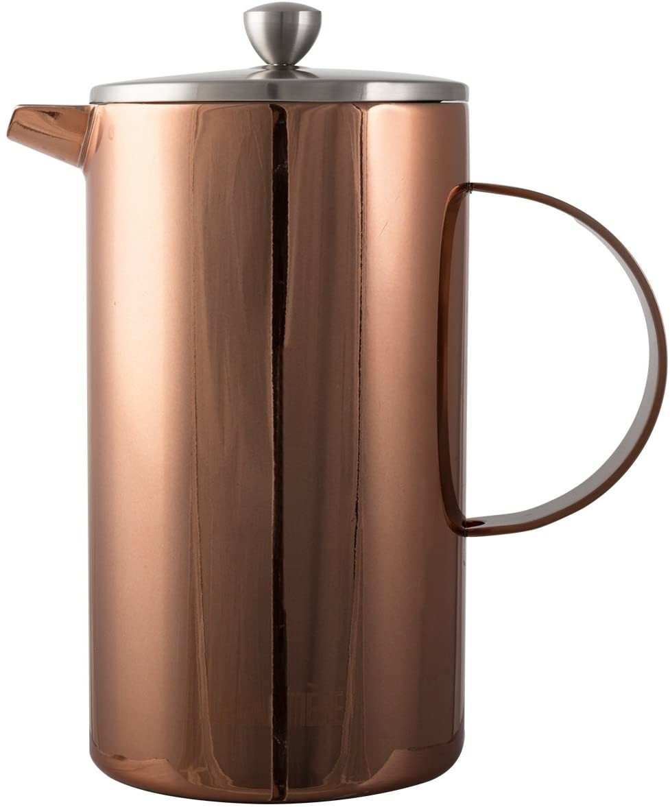 Image of La Cafetiere Classic 8-Cup Double Walled Copper