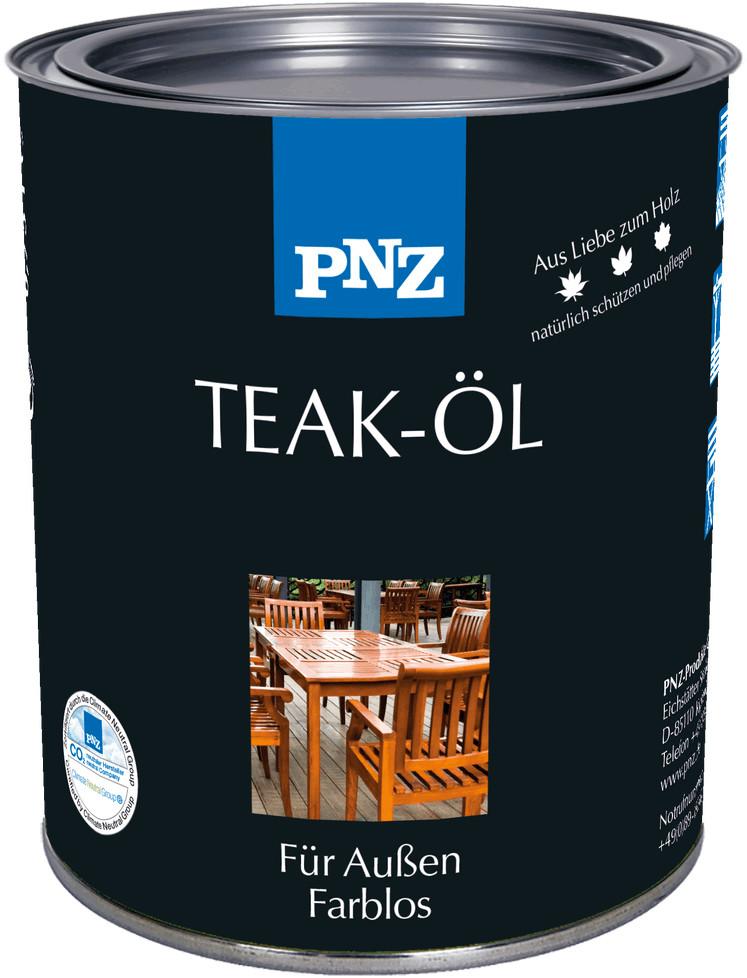 PNZ Teak-Öl 0,75 l farblos