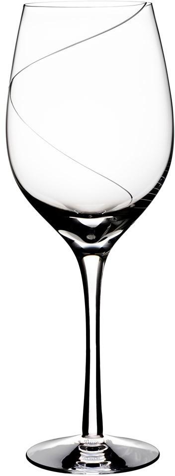 Kosta Boda Weinglas Line XL Red 67 cl klar