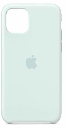 Apple Silikon Case (iPhone 11 Pro) Meerschaum