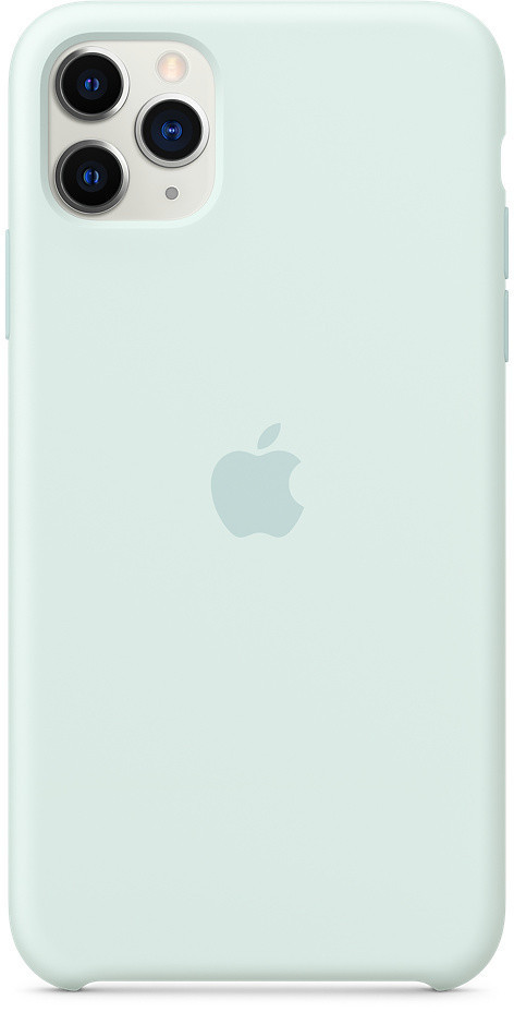 Apple Silikon Case (iPhone 11 Pro Max) Meerschaum