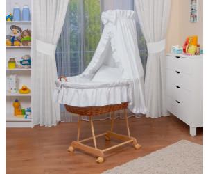 Waldin Baby Stubenwagen-Set (1203) weiß