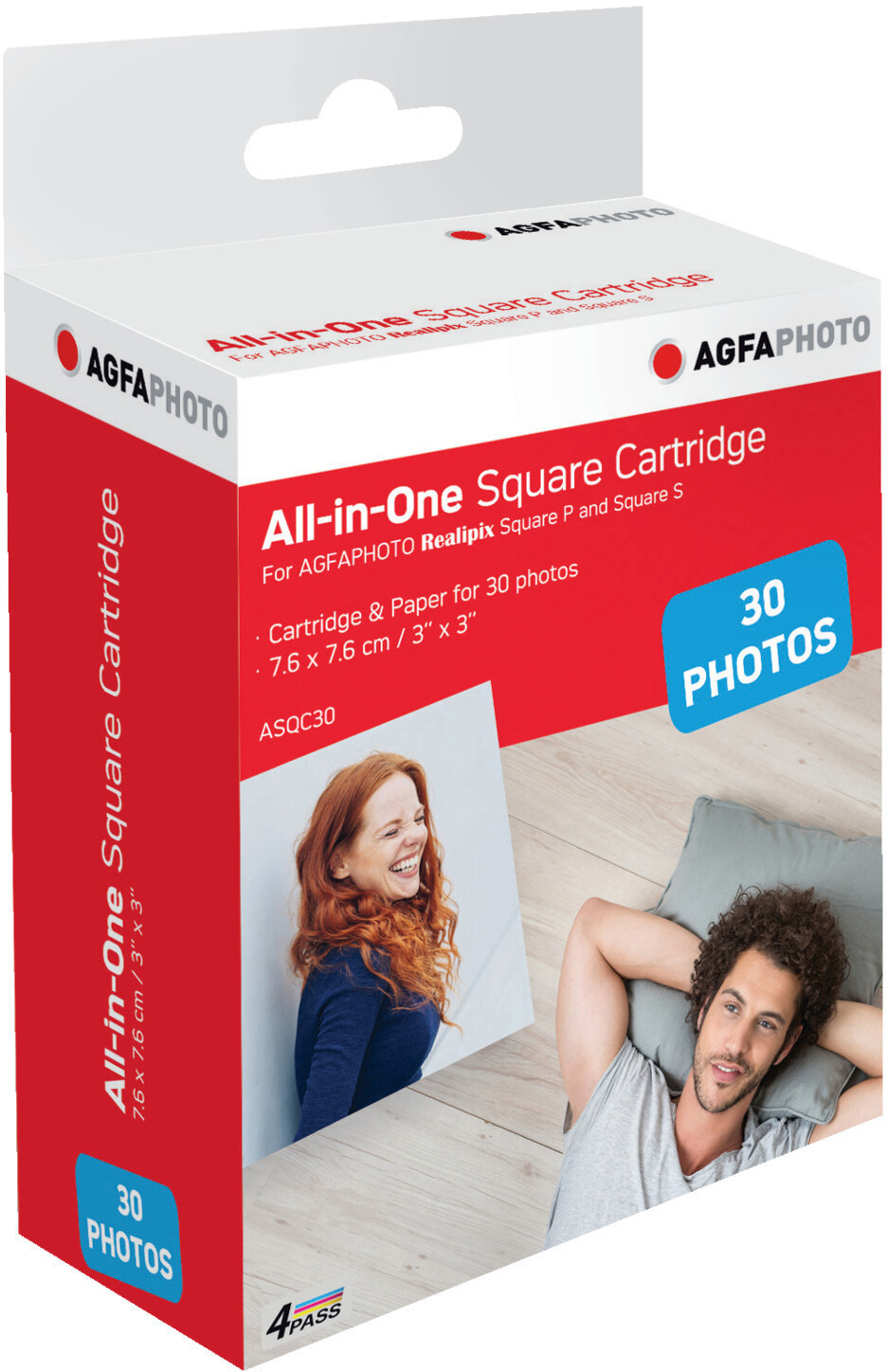 Image of AgfaPhoto All-in-One Square Cartridge (ASQC30)
