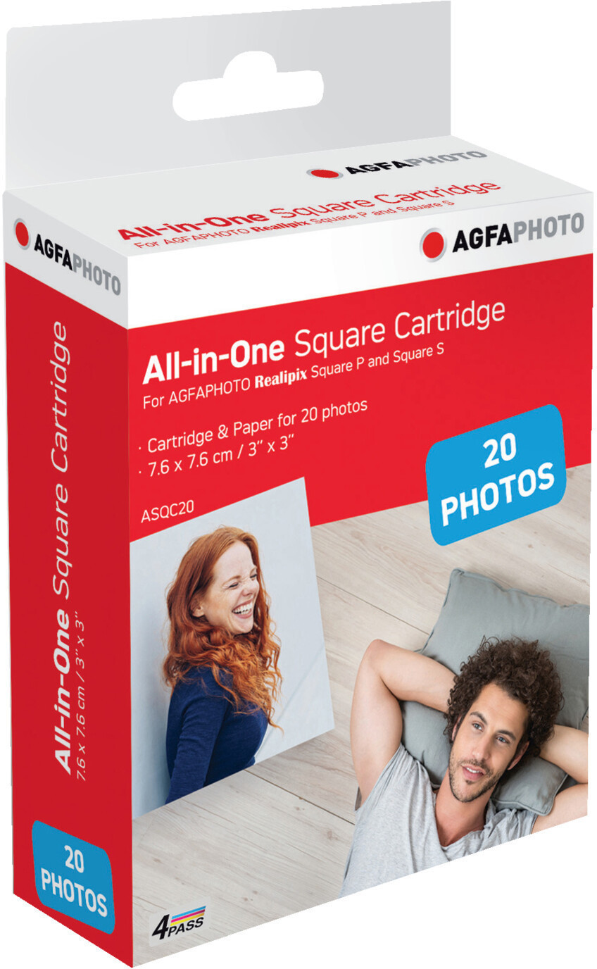 Image of AgfaPhoto All-in-One Square Cartridge (ASQC20)