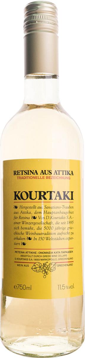 Kourtaki Retsina Kourtaki 0,75l