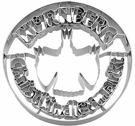 Städter Ausstechform Nürnberg Christkindlesmarkt® Ø 10 cm