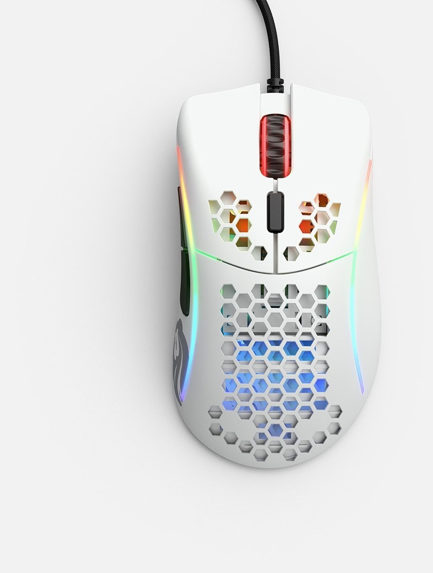 Image of Glorious PC Gaming Race Model D- (white matte)