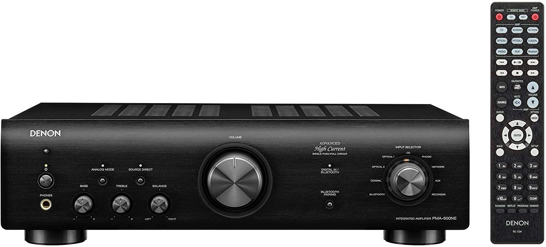 Image of Denon PMA600NE HiFi Amplifier, Power Amplifier with Bluetooth