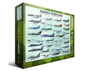 Eurographics Puzzles Moderne Flugzeuge 1000 Teile Puzzle (6000-0076)
