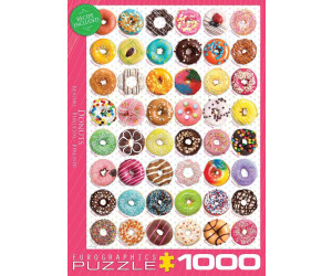 Eurographics Puzzles Donuts 1000 Teile Puzzle (6000-0585)