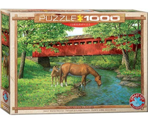 Eurographics Puzzles Sweet Water Bridge 1000 Teile Puzzle (6000-0834)