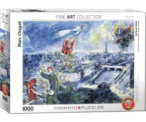 Eurographics Puzzles Chagall Marc - Abstraktes Paris 1000 Teile Puzzle (6000-0850)