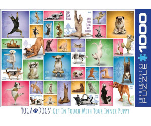 Eurographics Puzzles Yoga Dogs 1000 Teile Puzzle (6000-0954)