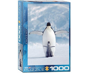 Eurographics Puzzles Pinguin und sein Kleines 1000 Teile Puzzle (6000-1246)