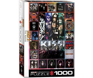 Eurographics Puzzles KISS, The Album 1000 Teile Puzzle (6000-5305)