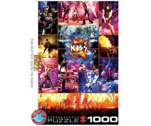 Eurographics Puzzles KISS The Hottest Show on Earth 1000 Teile Puzzle (6000-5306)