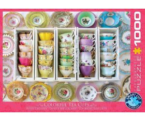 Eurographics Puzzles Tea Cups Boxes 1000 Teile Puzzle (6000-5342)