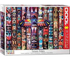 Eurographics Puzzles Totem Poles 1000 Teile Puzzle (6000-5349)