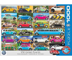 Eurographics Puzzles VW Beetle - Gone Places 1000 Teile Puzzle (6000-5422)