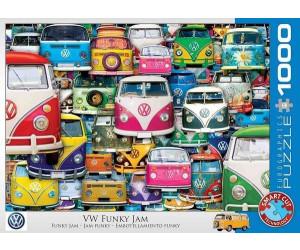 Eurographics Puzzles VW Funky Jam 1000 Teile Puzzle (6000-5423)